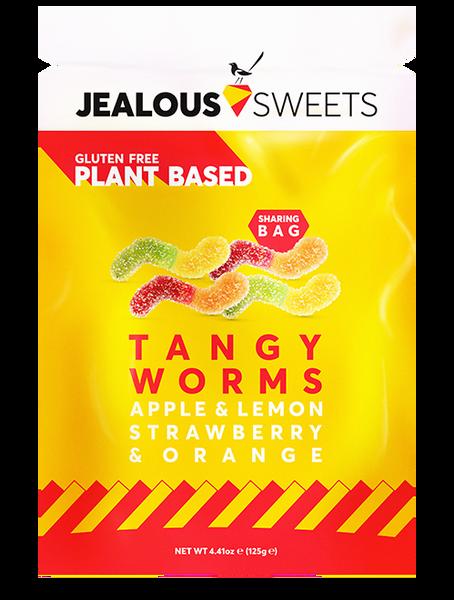Bilde av Smågodt Tangy Worms 125g / Jealous Sweets