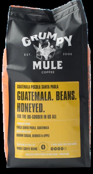 Bilde av Guatemala Pocola 227gmalt kaffe / Grumpy Mule
