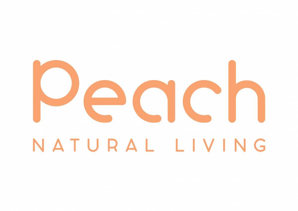 600 ml smoothiekopp med sugerør, Rosa / Peach