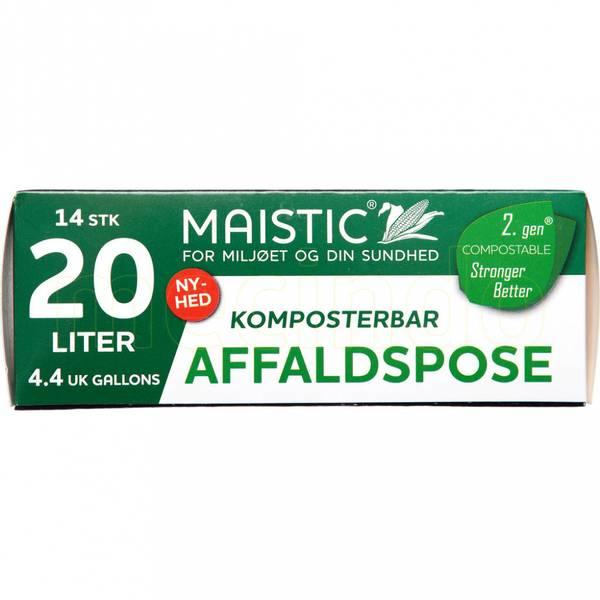 Bilde av Plastfrie søppelposer 20L / Maistic