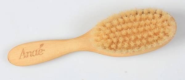Bilde av Plastfri hårbørste til barn, bøketre / Anaé