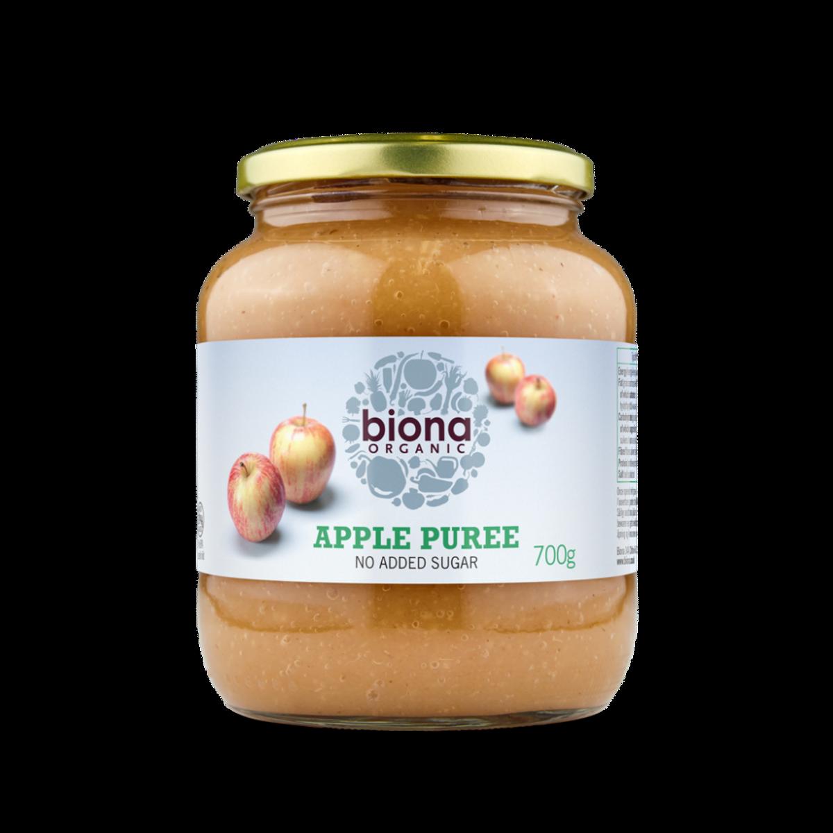 Økologisk eplemos, 700ml, sukkerfritt / Biona Organic
