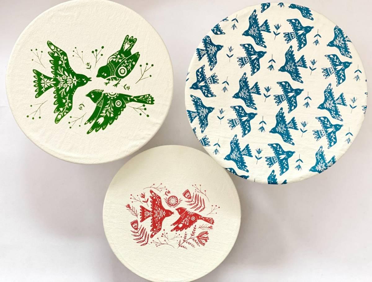 3-pk str. M/L/XL bolletrekk, Folk Bird / Your Green Kitchen