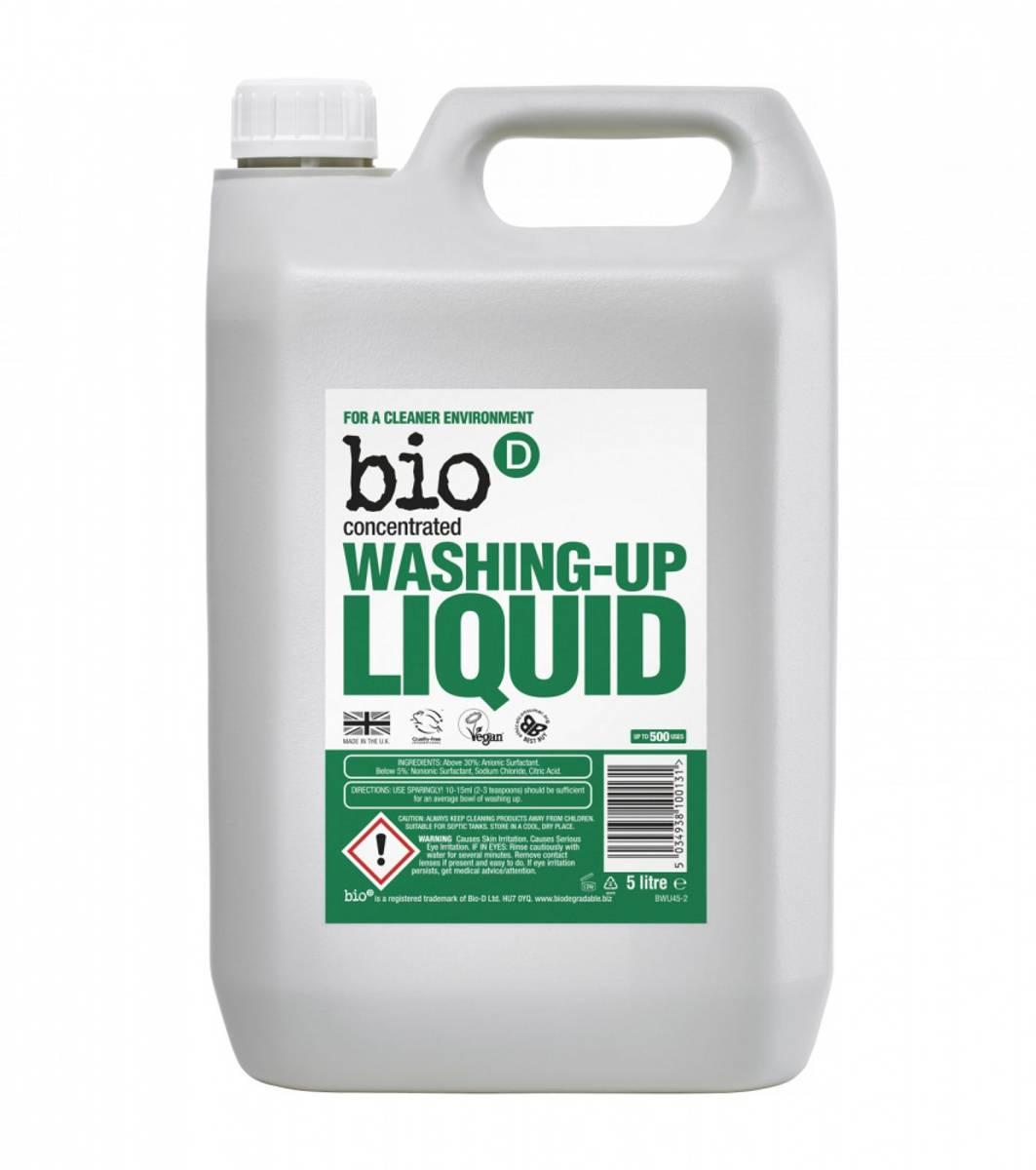 5L oppvasksåpe, dufrifri / Bio-D
