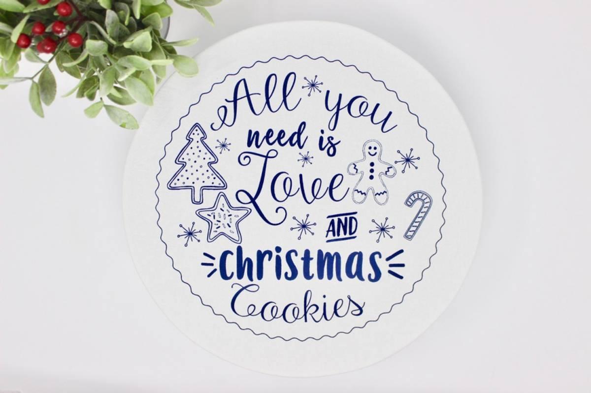 str. XL Vokset bolletrekk  //  Christmas Cookies