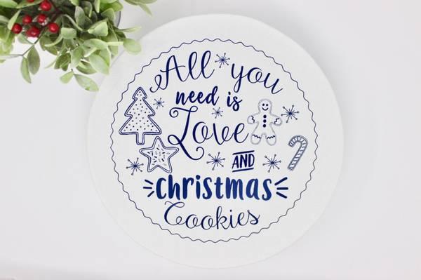 Bilde av str. XL Vokset bolletrekk  //  Christmas Cookies