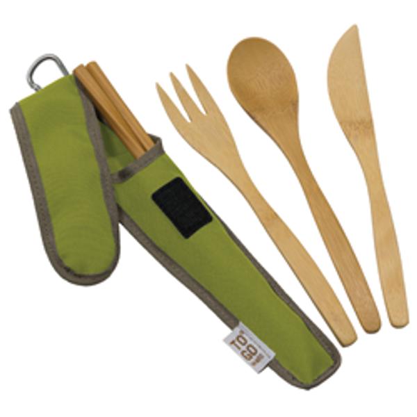 Bilde av Reisebestikk i bambus, Avocado / To-Go Ware