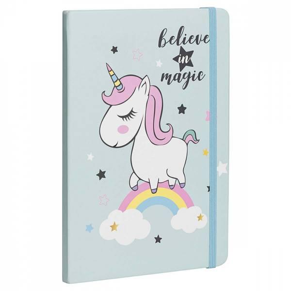Bilde av Belive in magic - lyseblå dagbok / Beeorganic