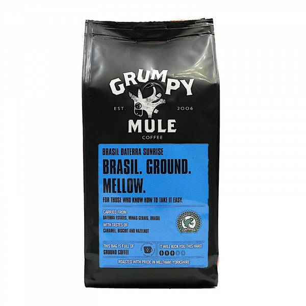 Bilde av Brasil Daterra Sunrise 227g malt kaffe / Grumpy Mule