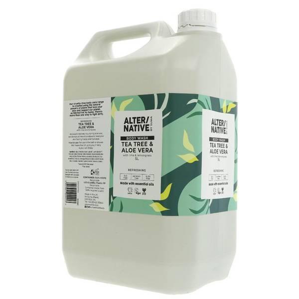 Bilde av 5L flytende dusjsåpe Tea Tree Aloe & Lime / Alter/native