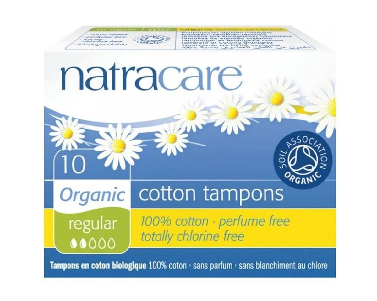 10 stk REGULAR økologiske tamponger / Natracare