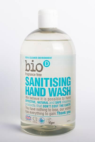 Bilde av 500 ml Håndsåpe uten duft / Bio-D