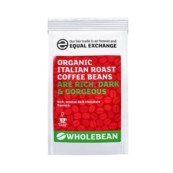 Bilde av Italian Roasted kaffebønner, 227g / Equal Exchange