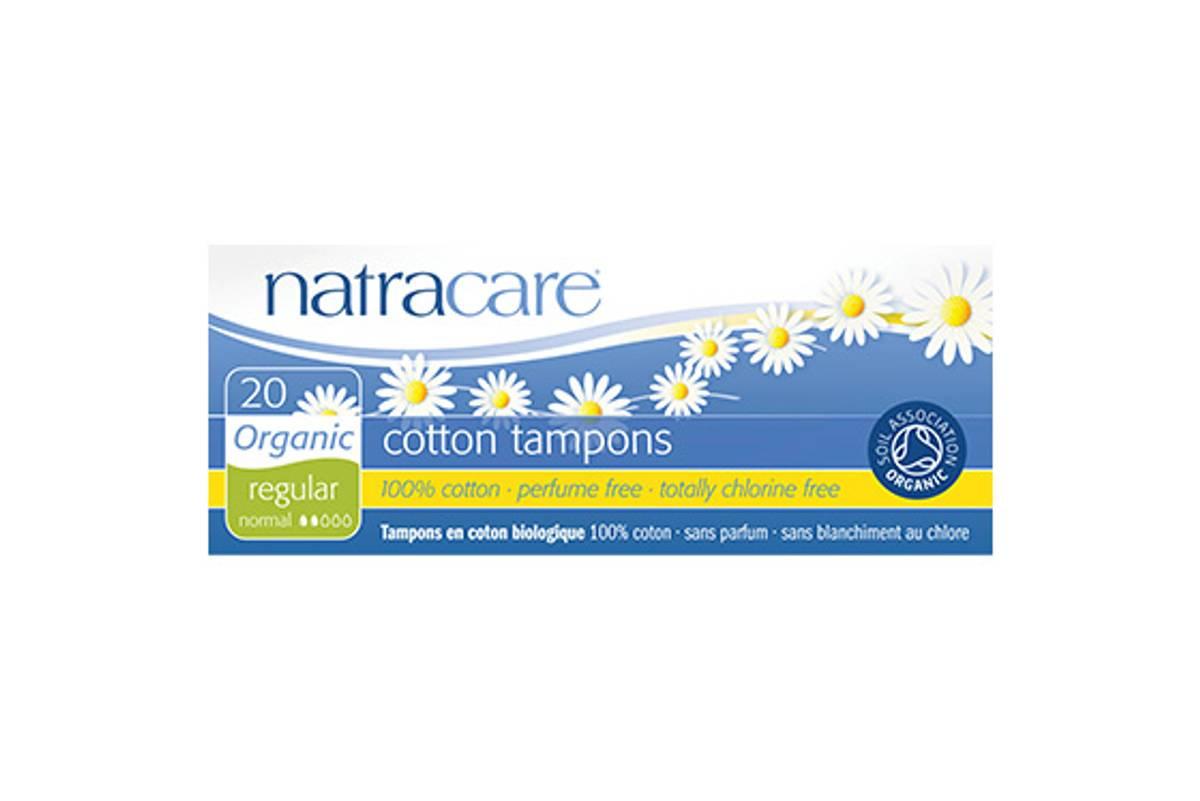 20 stk REGULAR økologiske tamponger / Natracare