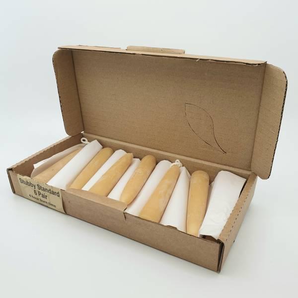 Bilde av 12 stk SMÅkronelys, 11.5cm x 2.2cm / Moorland Candles