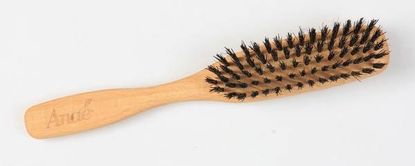 Bilde av Plastfri hårbørste i bøketre, smal / Anaé