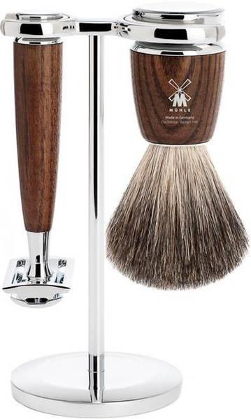 Bilde av Barbersett 3 deler - Rytmo ASK, Pure Badger / Mühle